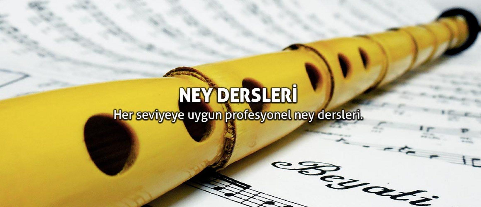 NEY DERSLERİ